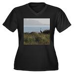 Great Blue Heron Plus Size T-Shirt