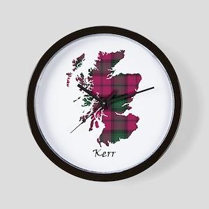 Map - Kerr Wall Clock