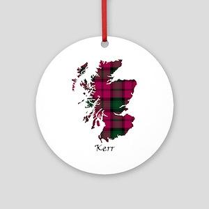 Map - Kerr Ornament (Round)
