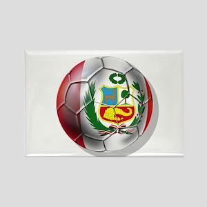 Peru Soccer Ball Magnets