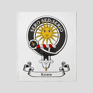 Badge - Kerr Throw Blanket
