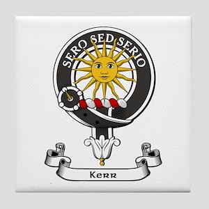 Badge - Kerr Tile Coaster