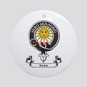Badge - Kerr Ornament (Round)