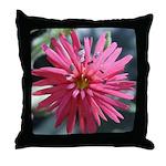 Indian Pink Throw Pillow
