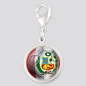 Peru Soccer Ball Charms