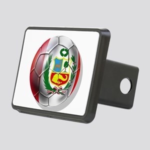 Peru Soccer Ball Hitch Cover