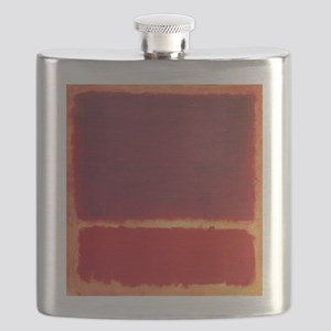 ROTHKO ORANGE RED Flask