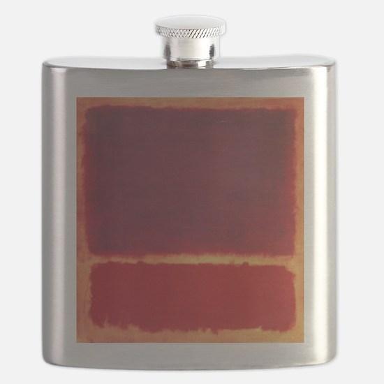 ROTHKO ORANGE RED Flask