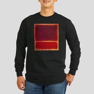 ROTHKO ORANGE RED Long Sleeve T-Shirt