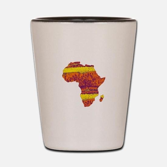 AFRICA Shot Glass