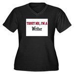 Trust Me I'm a Writer Women's Plus Size V-Neck Dar