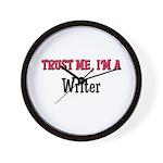 Trust Me I'm a Writer Wall Clock