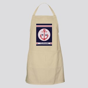 Nautical Anchor Monogrammed Apron