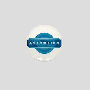 Antartica - Blue Mini Button
