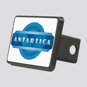 Antartica - Blue Rectangular Hitch Cover