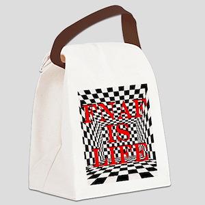 FNAF is life Canvas Lunch Bag