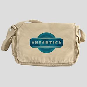 Antartica - Blue Messenger Bag