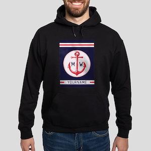 Nautical Anchor Monogrammed Sweatshirt