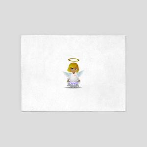 Angel of Peace 5'x7'Area Rug