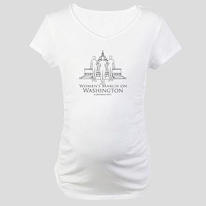 Women's March On Washington Maternity T-Shirt