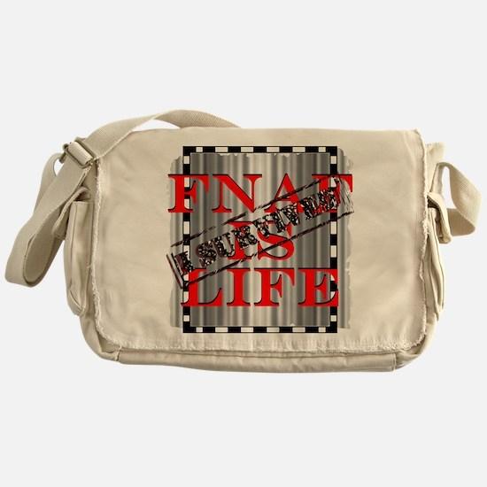FNAF is life Messenger Bag