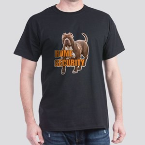 Home security pit bull Dark T-Shirt