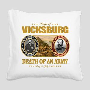 Vicksburg (FH2) Square Canvas Pillow
