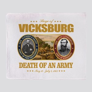 Vicksburg (FH2) Throw Blanket