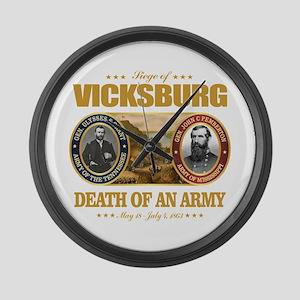 Vicksburg (FH2) Large Wall Clock