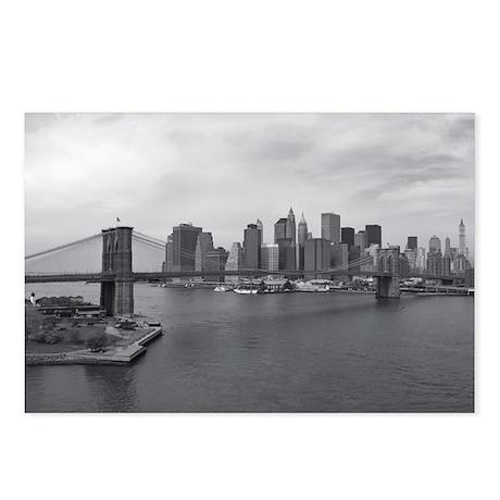 Brooklyn Span B&W Postcards (Package of 8)