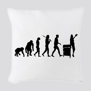 Library Librarian Woven Throw Pillow