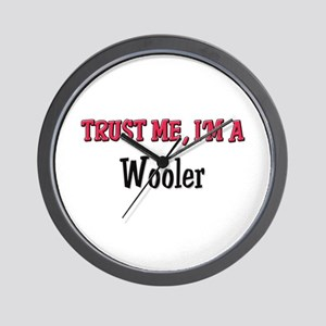 Trust Me I'm a Wooler Wall Clock
