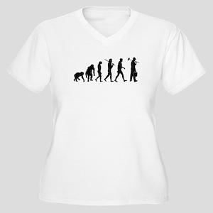 Painter Evoluton Women's Plus Size V-Neck T-Shirt