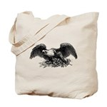 Bald Eagle Rebel Tote Bag