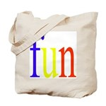 317. fun.. [color] Tote Bag