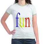 317. fun.. [color] Jr. Ringer T-Shirt