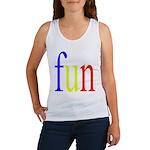 317. fun.. [color] Women's Tank Top