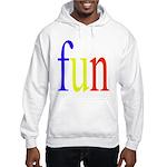 317. fun.. [color] Hooded Sweatshirt