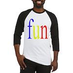 317. fun.. [color] Baseball Jersey