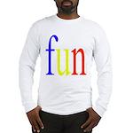 317. fun.. [color] Long Sleeve T-Shirt