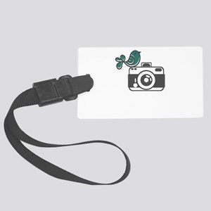 bird photography Large Luggage Tag