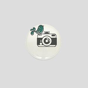 bird photography Mini Button