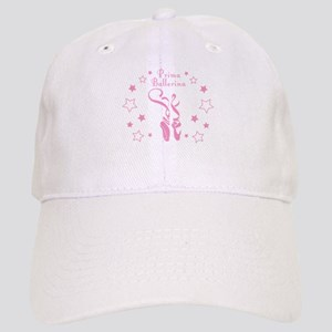 Prima Ballerina Toe Shoes - Pink Baseball Cap