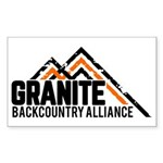 Granite Backcountry Alliance Logo Sticker