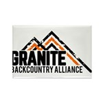Granite Backcountry Alliance Logo Magnets