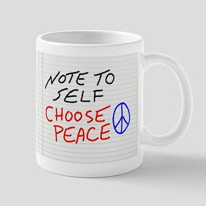 Note To Self Mugs