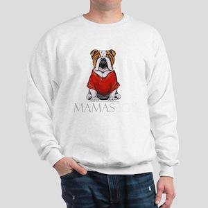Mamas Boy Bulldog Sweatshirt