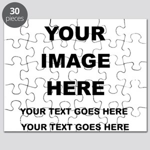 Your Photo and Text Here T Shirt Puzzle
