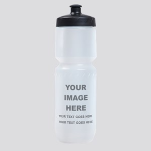 Your Photo and Text Here T Shirt Sports Bottle