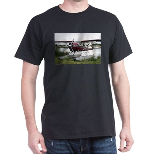 Float plane, Lake Hood, Anchorage, Alaska, T-Shirt